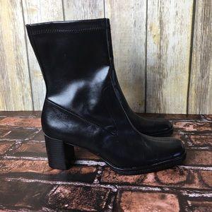 Aerosoles zipper boots